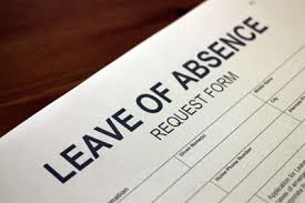 Leave of Absence document
